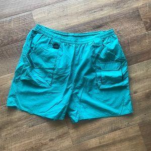 Vintage Rio Bravo Turquoise nylon hiking shorts XL